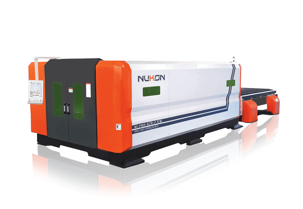 Nf-Pro-420-2kW fiber laser cutting machine nukon bg