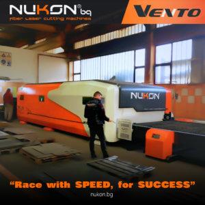 Fiber laser Installation Vento 620